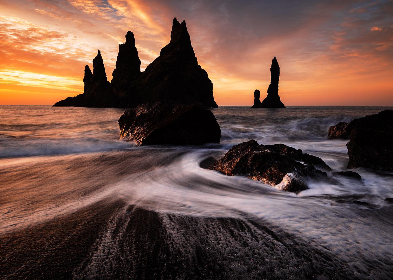 vik sonnenaufgang island fotospots