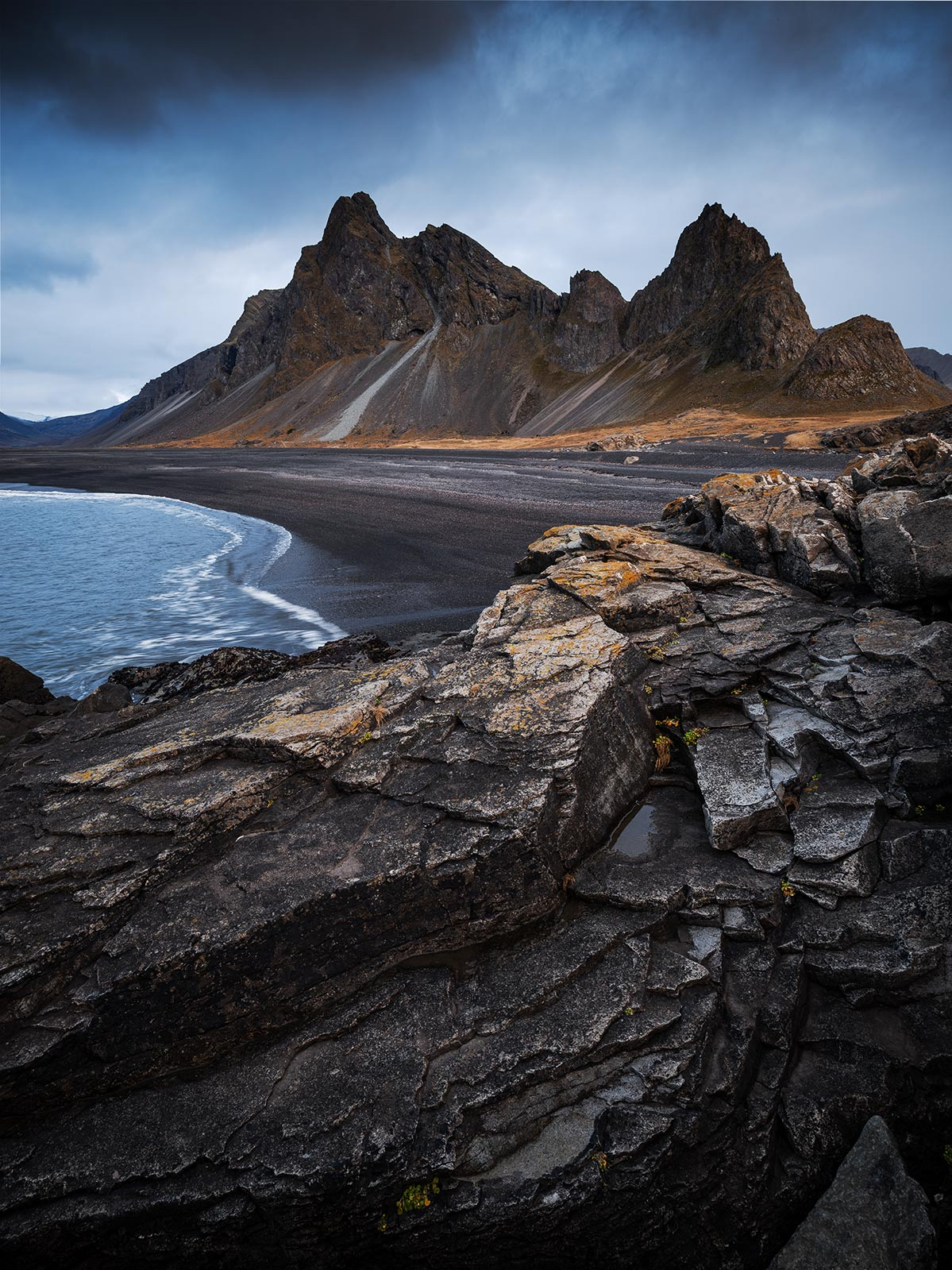 Vesturhorn island fotospot